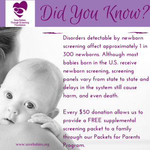 Supplemental Newborn Screening